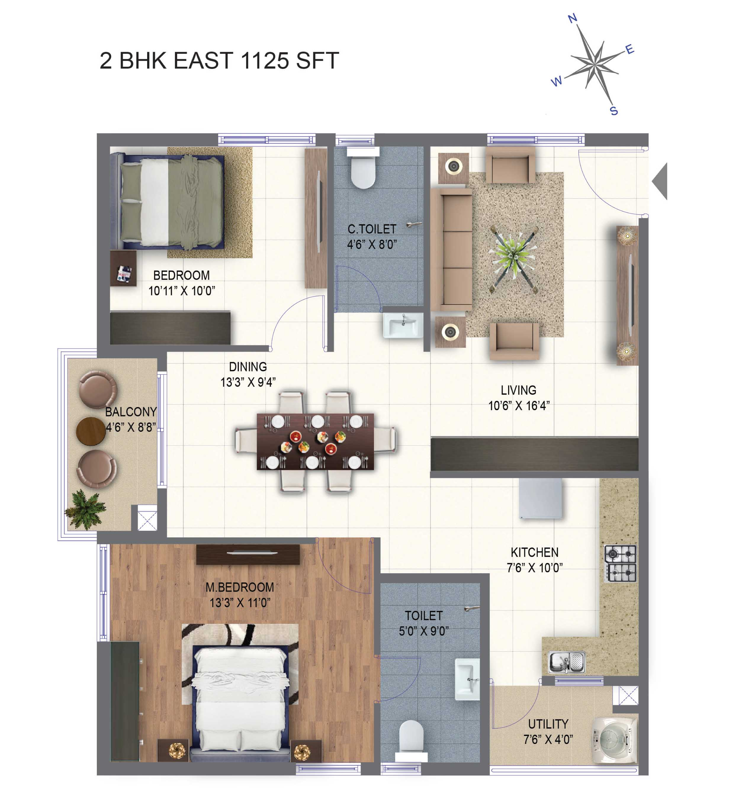 2/3 BHK Flats for sale in Kukatpally